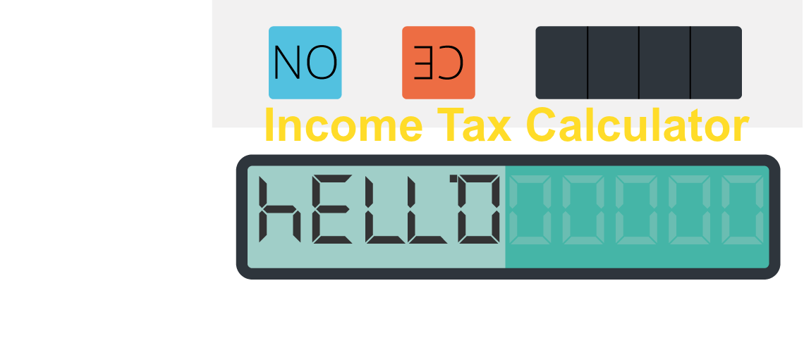 income tax calculator image
